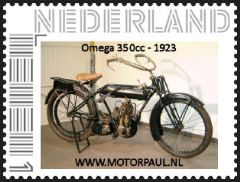 One of the Persoonlised stamps of Motorpaul